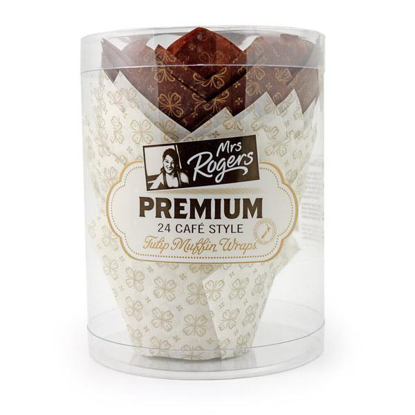 Premium Tulip Muffin Wraps