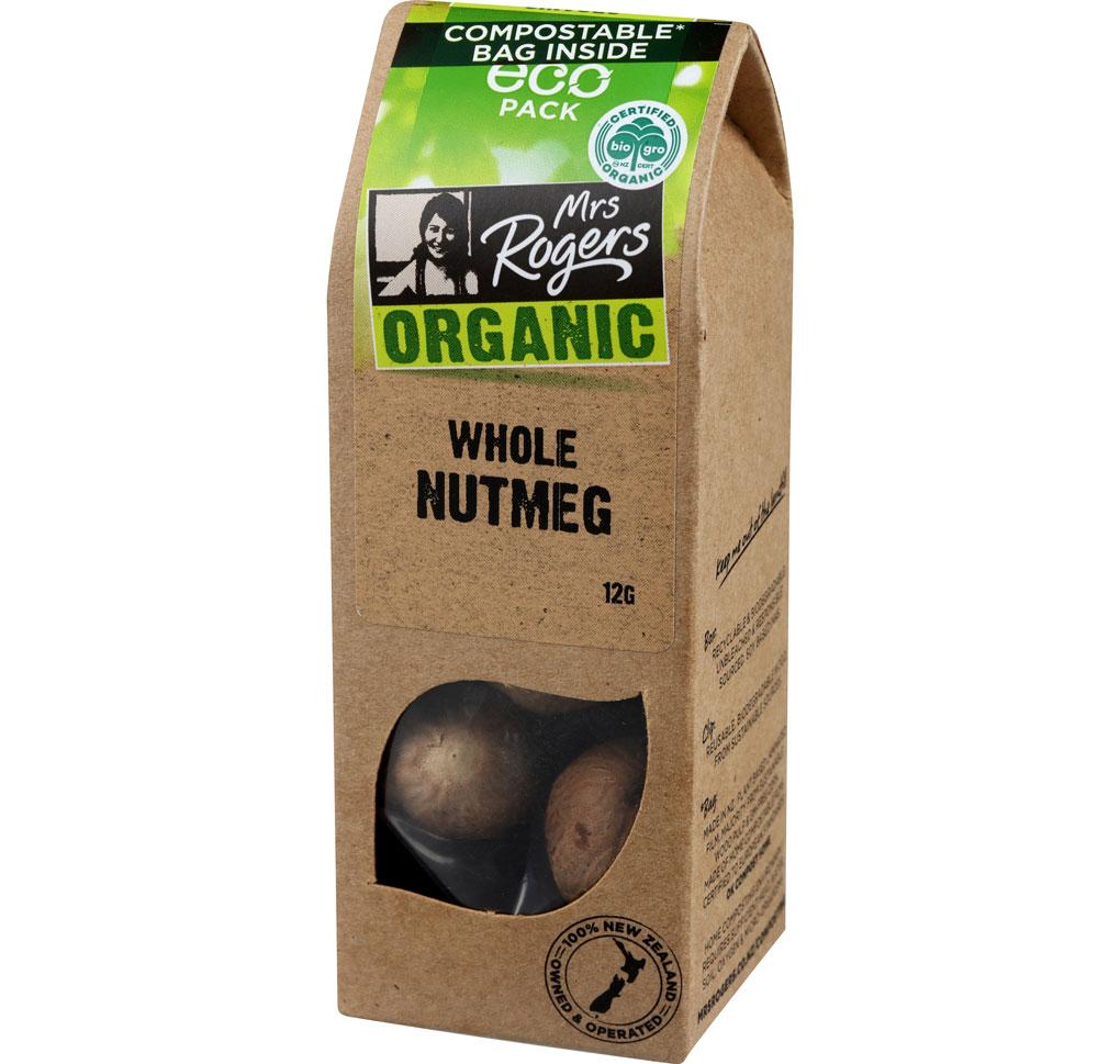 Organic Nutmeg Whole