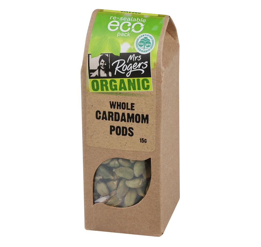 Organic Cardamom Pods