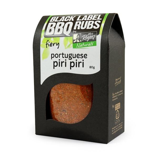 Portuguese Piri Piri - Mrs Rogers Black Label BBQ Rubs